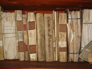 Parchment bindings