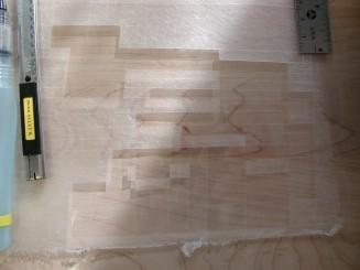 Rubel remoistenable materials